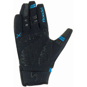 Roeckl Reintal Fietshandschoenen, black/blue